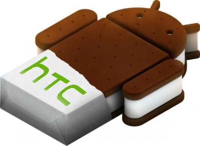 Atualização do Android 4.0 para os dispositivos da HTC.